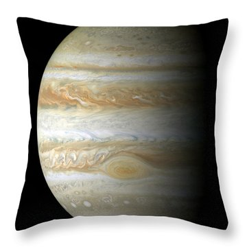 Jupiter Mosiac Throw Pillow by Stocktrek Images