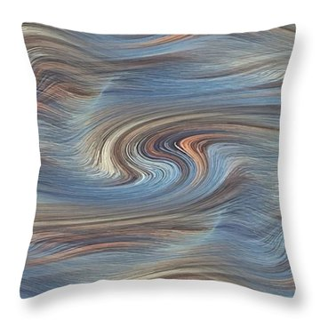 Jupiter Wind Throw Pillow