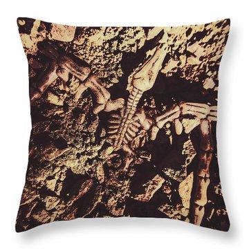 Geological Throw Pillows