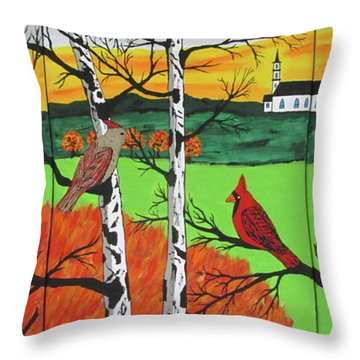 Just A Beautiful Day Throw Pillow