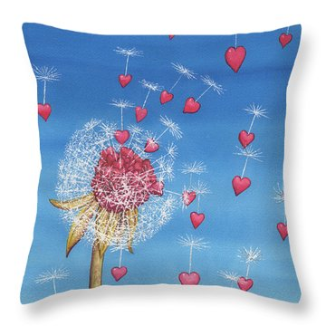 Just, A Breath Away Throw Pillow