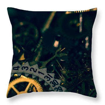 Just A Cog In The Machine 1 Throw Pillow