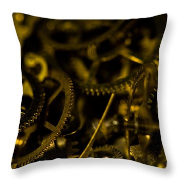 Just A Cog In The Machine 3 Throw Pillow