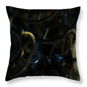 Just A Cog In The Machine 4 Throw Pillow