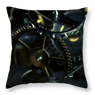 Just A Cog In The Machine 5 Throw Pillow