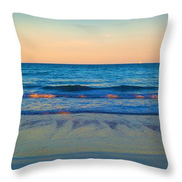Throw Pillow featuring the photograph Just A Dream And The Wind by Michelle Wiarda