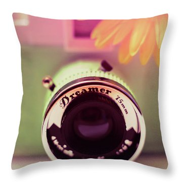 Just A Dreamer  Throw Pillow by Terry DeLuco