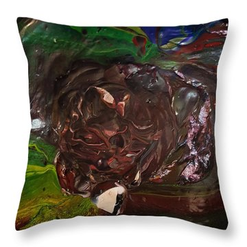 Just A Freakin' Mess Throw Pillow