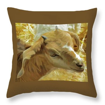 Just A Kid Throw Pillow