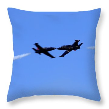 Just A Kiss Throw Pillow