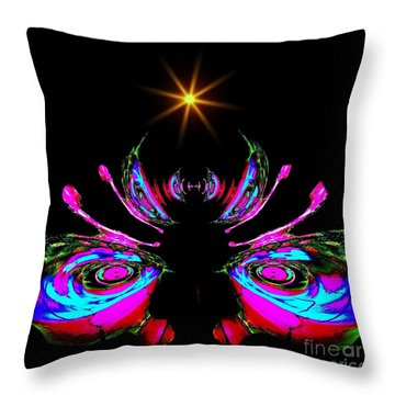 Just A Little Bit Abstract Throw Pillow by Blair Stuart