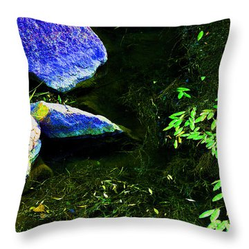 Just  A  Little  Zen -  Image  2 Throw Pillow
