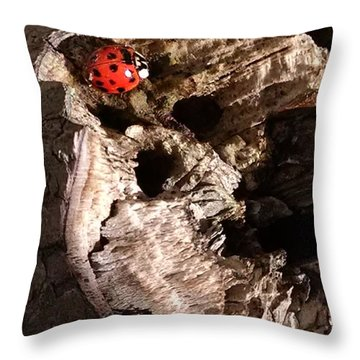 Just A Place To Rest Throw Pillow