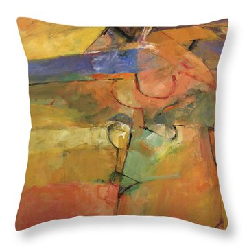 Just A Pose Throw Pillow