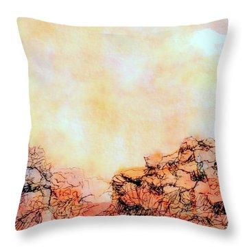Just A Sketch Throw Pillow
