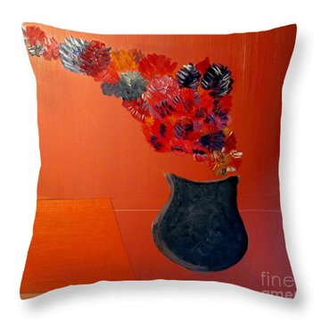 Just A Thought  Bill Oconnor Throw Pillow