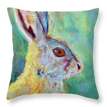 Just Ahare Throw Pillow