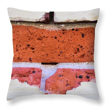 Just Another Brick In The Wall Throw Pillow