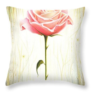 Just Another Common Beauty Throw Pillow