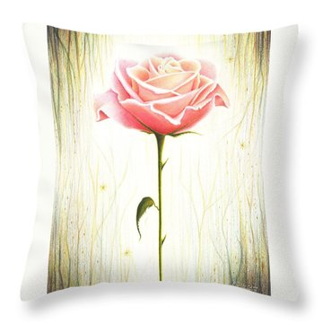 Just Another Common Beauty Throw Pillow by Danielle R T Haney