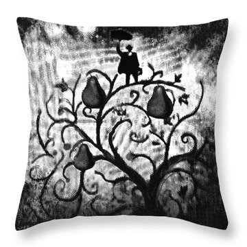Just Another Day At Work Throw Pillow