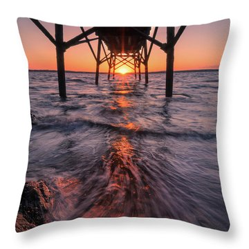 Just Another Day... Throw Pillow