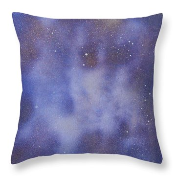 Just Another Face In The Clouds Throw Pillow