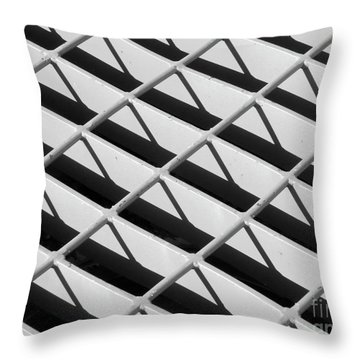 Just Another Grate Throw Pillow