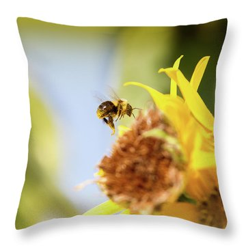Just Beeing Me Throw Pillow