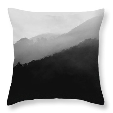 Just Breathe Throw Pillow by Gray  Artus