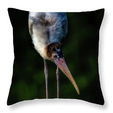 Just Browsing Throw Pillow