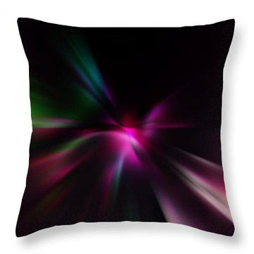 Just Color Throw Pillow