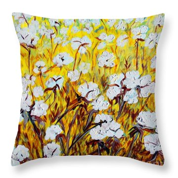 Just Cotton Throw Pillow