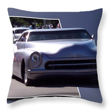 Just Cruising Throw Pillow by Thomas Woolworth