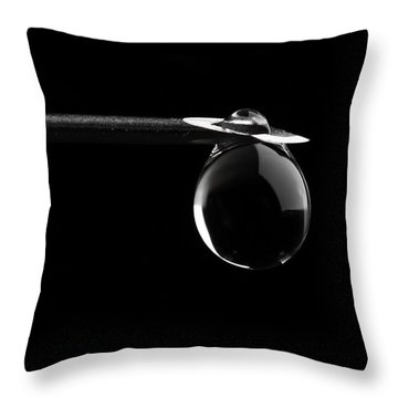Just Eat The Apple Throw Pillow