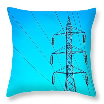 Just Feeling #electric!  2nd Photo For Throw Pillow