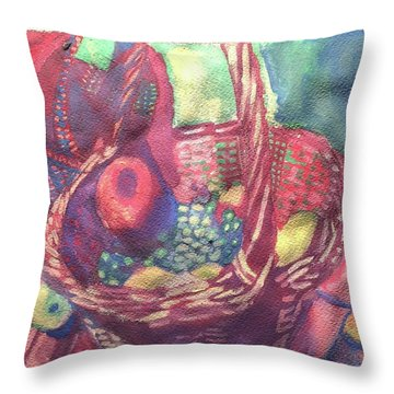 Just Gathered Throw Pillow