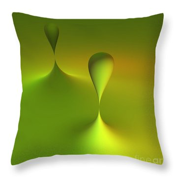 Just Globs Throw Pillow