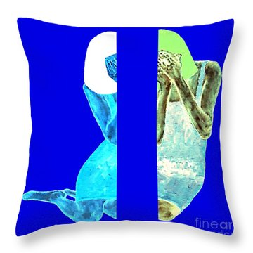Just Heard The News Throw Pillow by Patrick J Murphy