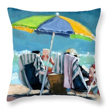 Just Leave A Message IIi Throw Pillow by Laura Lee Zanghetti