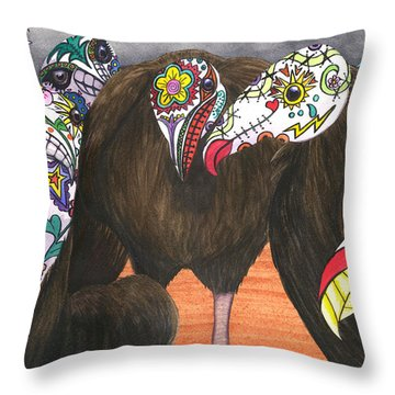 Just Love The Holidays Throw Pillow
