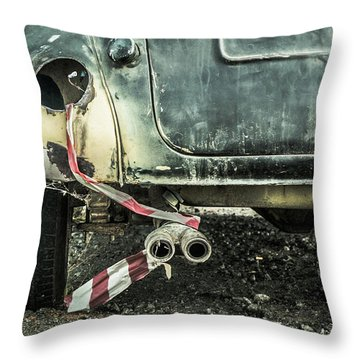 Just Married? Throw Pillow