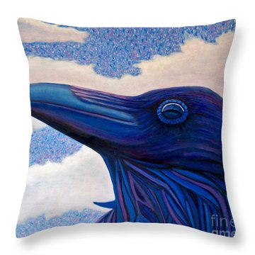 Just Once Throw Pillow by Brian  Commerford