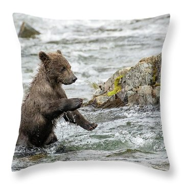 Just Practicing  Throw Pillow
