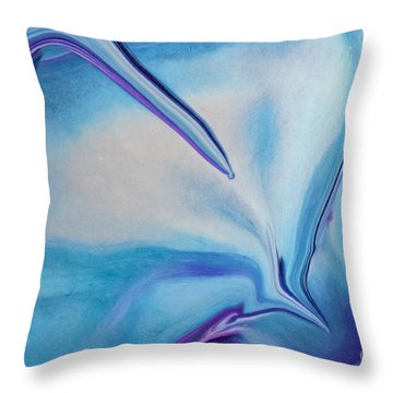 Just Push Play Throw Pillow