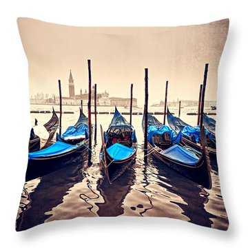Just Sail Throw Pillow