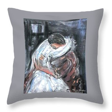 Just Shadow Throw Pillow