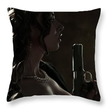 Just Shot That 45 Throw Pillow