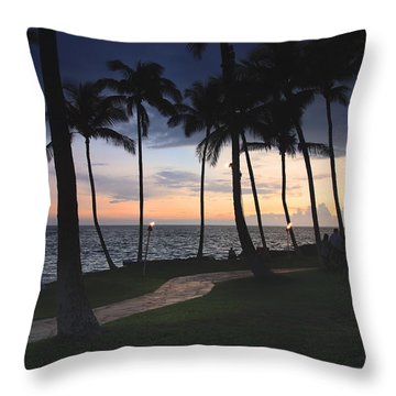 Just Simply Be Mine Throw Pillow
