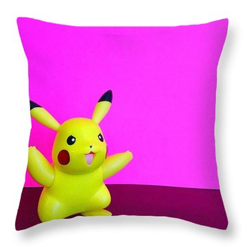 Just Some #saturdaymorning #silliness Throw Pillow